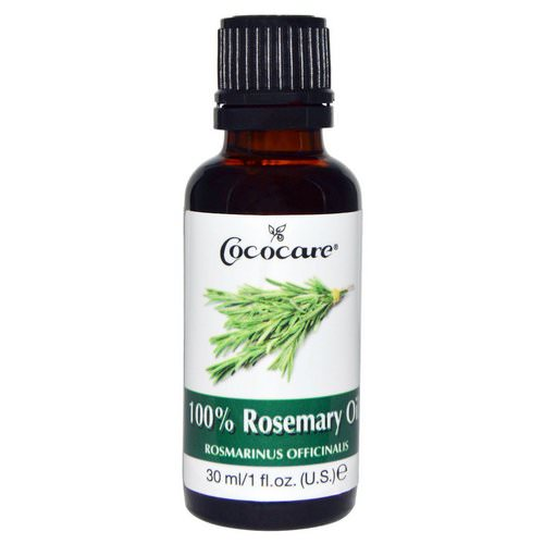 Cococare, 100% Rosemary Oil, 1 fl oz (30 ml) Review
