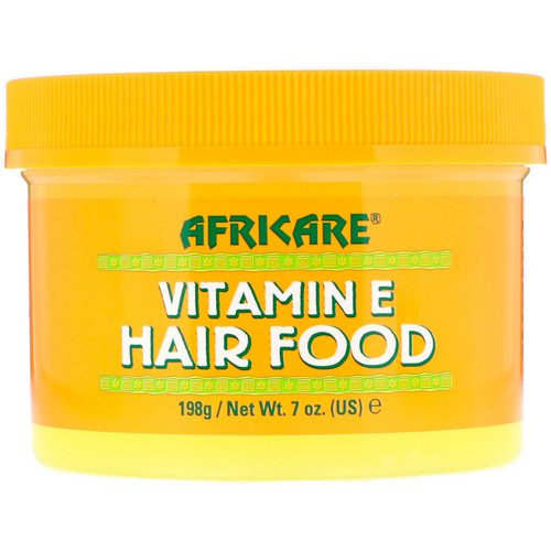 Cococare, Africare, Vitamin E Hair Food, 7 oz (198 g) Review