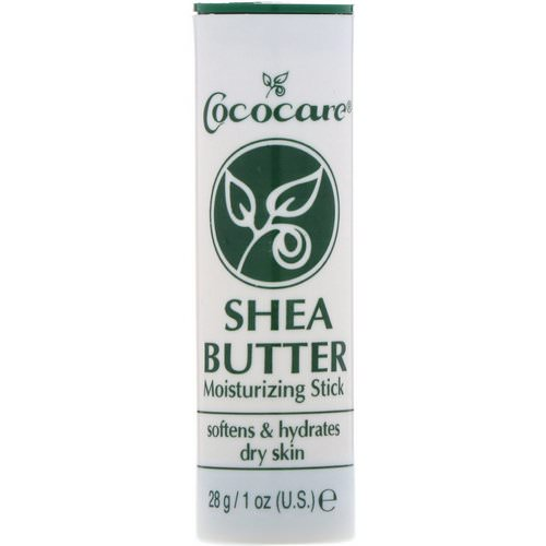 Cococare, Shea Butter Moisturizing Stick, 1 oz (28 g) Review
