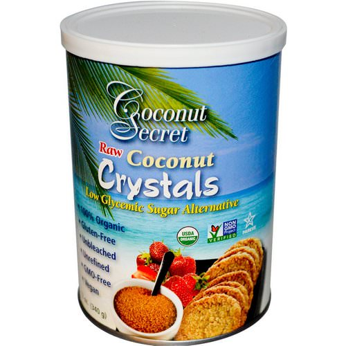 Coconut Secret, Raw Coconut Crystals, 12 oz (340 g) Review