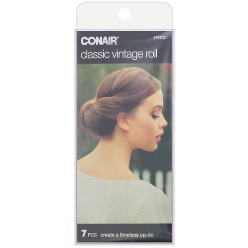 Conair, Classic Vintage Roll, 7 Pieces Review