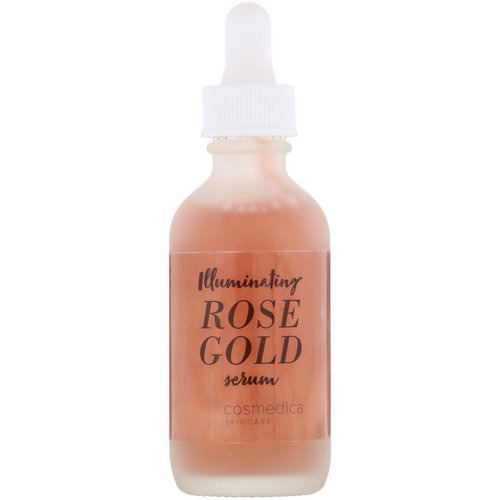 Cosmedica Skincare, Illuminating Rose Gold Serum, 2 oz (60 ml) Review