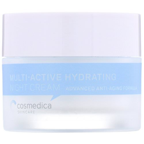 Cosmedica Skincare, Multi-Active Hydrating Night Cream, Advanced Anti-Aging Formula, 1.76 oz (50 g) Review