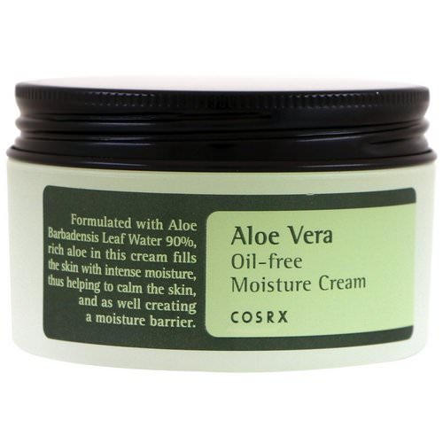 Cosrx, Aloe Vera Oil-Free Moisture Cream, 3.52 oz (100 g) Review