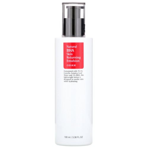 Cosrx, Natural BHA Skin Returning Emulsion, 100 ml Review