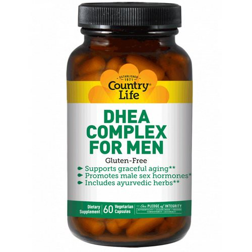 Country Life, DHEA Complex for Men, 60 Veggie Caps Review