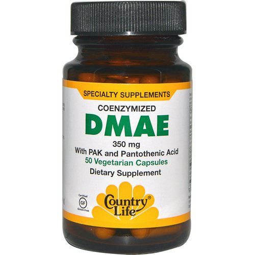 Country Life, DMAE, Coenzymized, 350 mg, 50 Veggie Caps Review