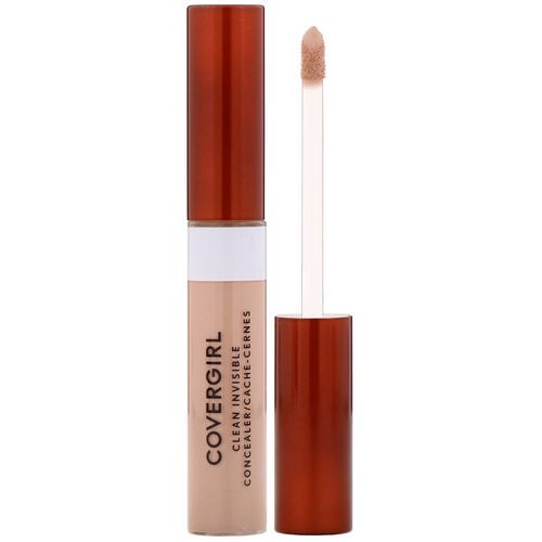 Covergirl, Clean Invisible Concealer, 125 Light, .32 oz (9 g) Review