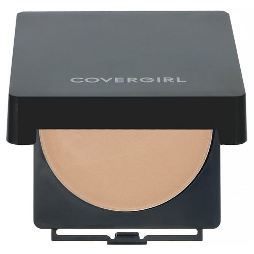 Covergirl, Clean, Powder Foundation, 525 Buff Beige, .41 oz (11.5 g) Review