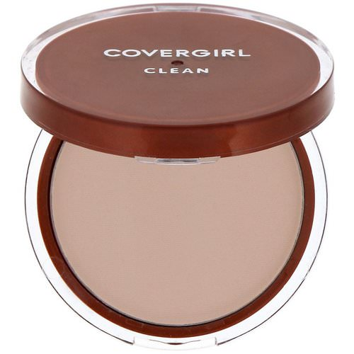 Covergirl, Clean, Pressed Powder Foundation, 120 Creamy Natural, .39 oz (11 g) Review