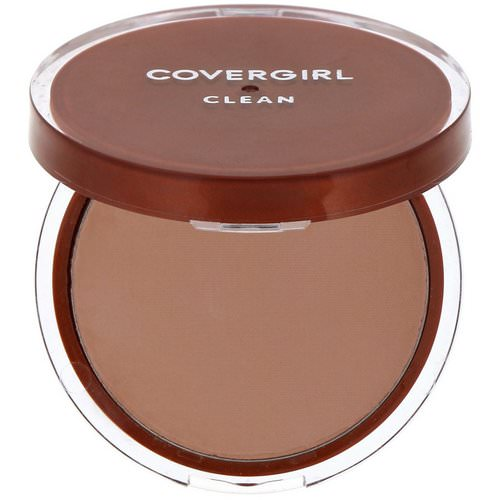 Covergirl, Clean, Pressed Powder Foundation, 135 Medium Light, .39 oz (11 g) Review