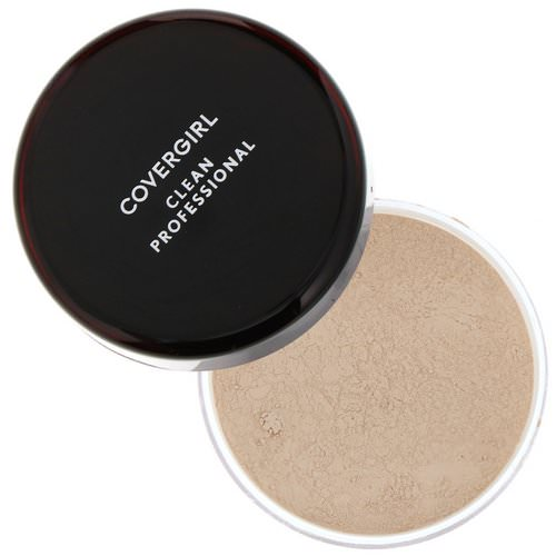 Covergirl, Clean Professional, Loose Powder, 105 Translucent Fair, .7 oz (20 g) Review