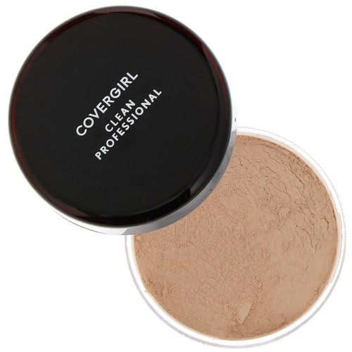 Covergirl, Clean Professional, Loose Powder, 115 Translucent Medium, .7 oz (20 g) Review