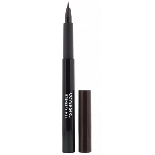 Covergirl, Intensify Me! Liquid Eyeliner, 305 Smoked Amber, .03 oz (1 ml) Review
