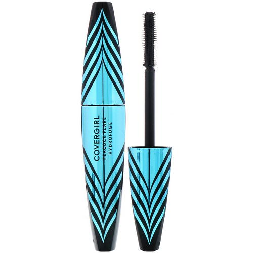 Covergirl, Peacock Flare, Waterproof Mascara, 820 Extreme Black, .34 fl oz (10 ml) Review