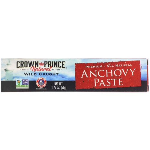 Crown Prince Natural, Anchovy Paste, 1.75 oz (50 g) Review