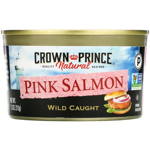 Crown Prince Natural, Pink Salmon, Wild Caught, 7.5 oz (213 g) Review