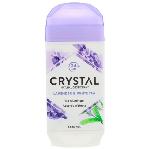 Crystal Body Deodorant, Natural Deodorant, Lavender & White Tea, 2.5 oz (70 g) Review