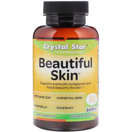 Crystal Star, Beautiful Skin, 60 Veggie Caps Review