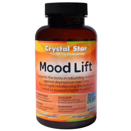 Crystal Star, Mood Lift, 60 Veggie Caps Review