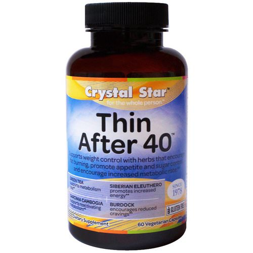 Crystal Star, Thin After 40, 60 Veggie Caps Review