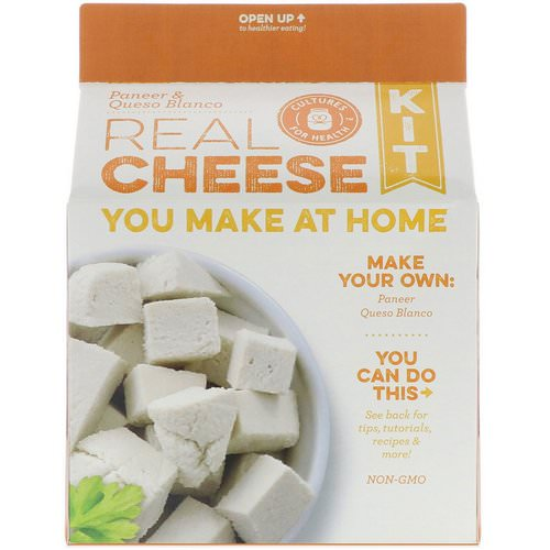 Cultures for Health, Real Cheese Kit, Paneer & Queso Blanco, 1 Kit Review