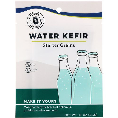 Cultures for Health, Water Kefir, 1 Packet, .19 oz (5.4 g) Review