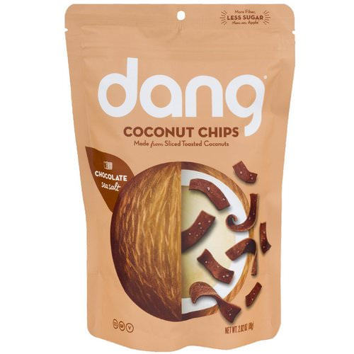 Dang, Coconut Chips, Chocolate Sea Salt, 2.82 oz (80 g) Review