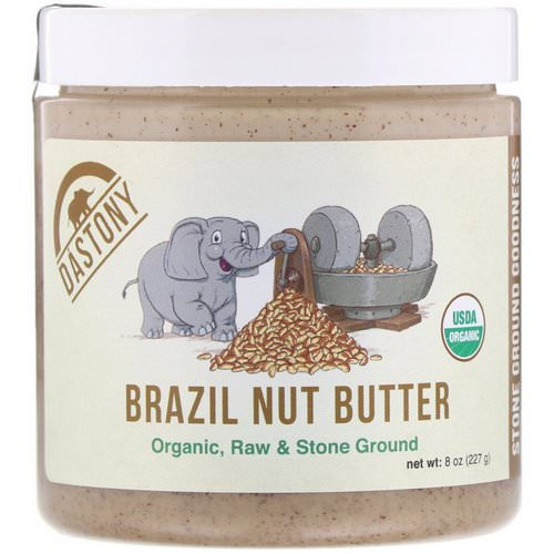 Dastony, 100% Organic Brazil Nut Butter, 8 oz (227 g) Review