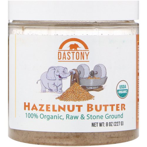 Dastony, Organic, Hazelnut Butter, 8 oz (227 g) Review