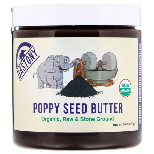 Dastony, Organic Poppy Seed Butter, 8 oz (227 g) Review