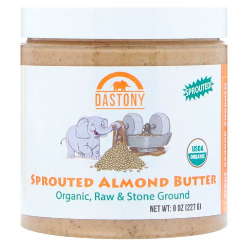 Dastony, Organic, Sprouted Almond Butter, 8 oz (227 g) Review