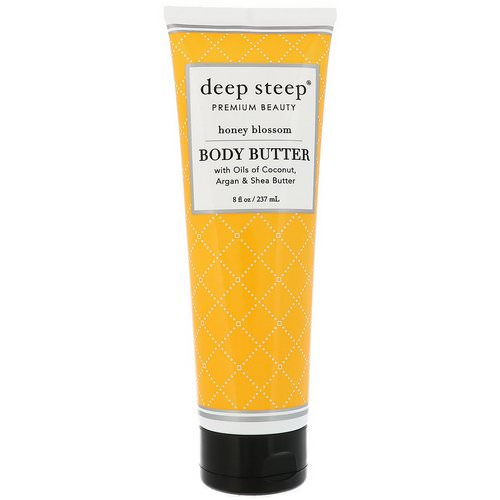 Deep Steep, Body Butter, Honey Blossom, 8 fl oz (237 ml) Review