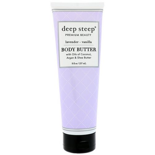 Deep Steep, Body Butter, Lavender Vanilla, 8 fl oz (237 ml) Review