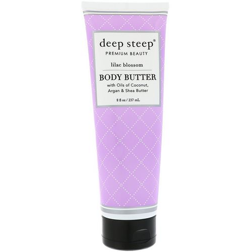 Deep Steep, Body Butter, Lilac Blossom, 8 fl oz (237 ml) Review