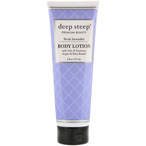 Deep Steep, Body Lotion, Fresh Lavender, 8 fl oz (237 ml) Review