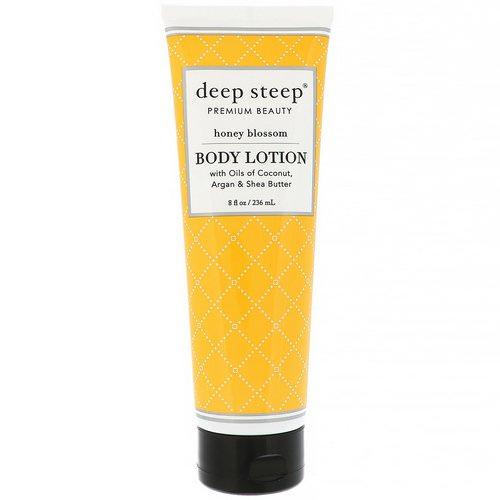Deep Steep, Body Lotion, Honey Blossom, 8 fl oz (236 ml) Review