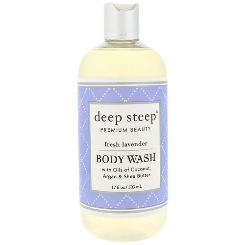 Deep Steep, Body Wash, Fresh Lavender, 17 fl oz (503 ml) Review