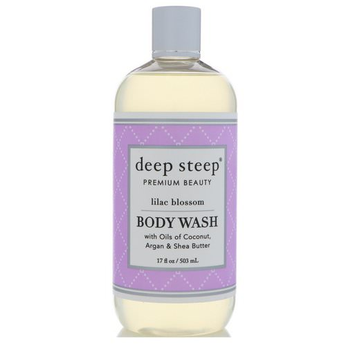 Deep Steep, Body Wash, Lilac Blossom, 17 fl oz (503 ml) Review
