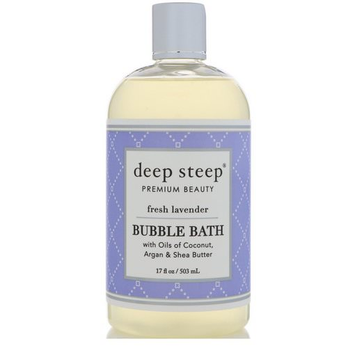 Deep Steep, Bubble Bath, Fresh Lavender, 17 fl oz (503 ml) Review