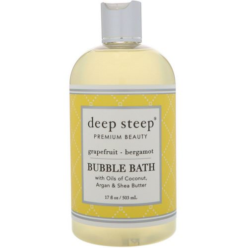 Deep Steep, Bubble Bath, Grapefruit - Bergamot, 17 fl oz (503 ml) Review