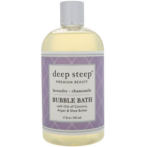Deep Steep, Bubble Bath, Lavender - Chamomile, 17 fl oz (503 ml) Review