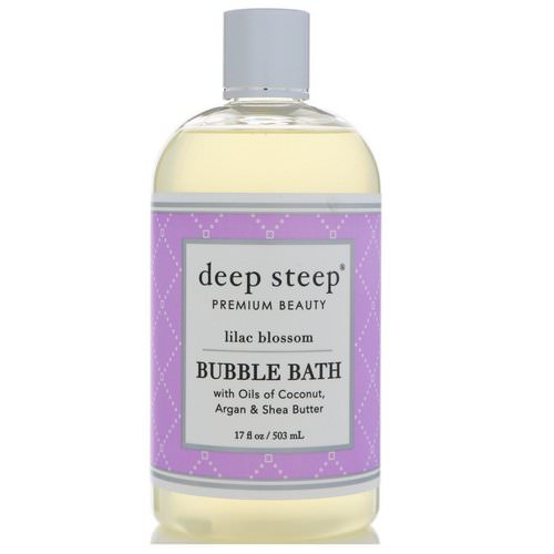 Deep Steep, Bubble Bath, Lilac Blossom, 17 fl oz (503 ml) Review