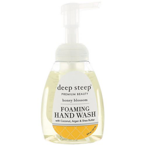 Deep Steep, Foaming Hand Wash, Honey Blossom, 8 fl oz (237 ml) Review