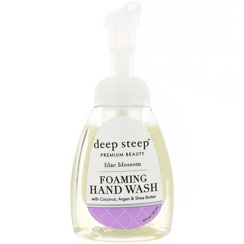 Deep Steep, Foaming Hand Wash, Lilac Blossom, 8 fl oz (237 ml) Review