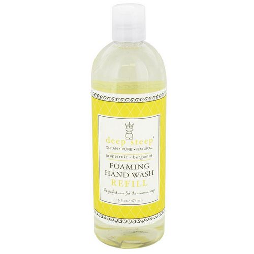 Deep Steep, Foaming Hand Wash Refill, Grapefruit - Bergamot, 16 fl oz (474 ml) Review