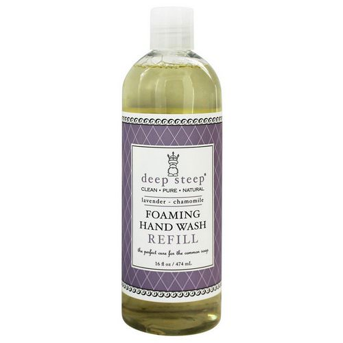 Deep Steep, Foaming Hand Wash, Refill, Lavender - Chamomile, 16 fl oz (474 ml) Review
