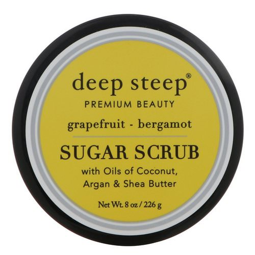 Deep Steep, Sugar Scrub, Grapefruit - Bergamot, 8 oz (226 g) Review