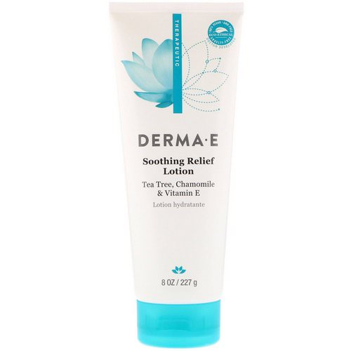 Derma E, Soothing Relief Lotion, Tea Tree, Chamomile & Vitamin E, 8 oz (227 g) Review