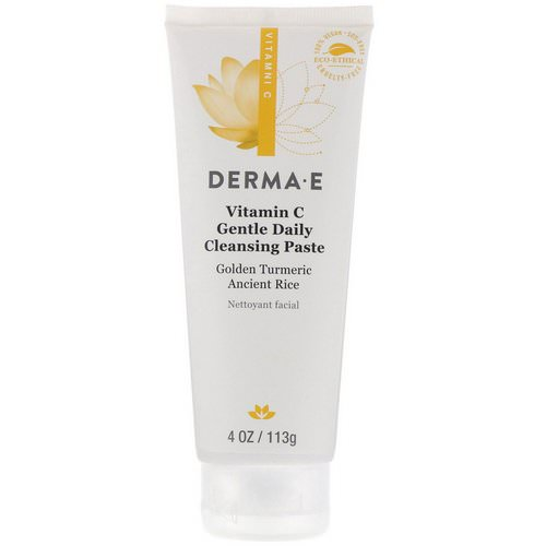 Derma E, Vitamin C, Gentle Daily Cleansing Paste, 4 oz (113 g) Review